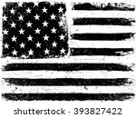 american flag background.... | Shutterstock . vector #393827422