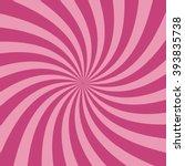swirling radial pattern... | Shutterstock .eps vector #393835738