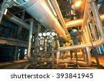industrial zone  steel... | Shutterstock . vector #393841945