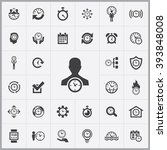 simple time management icons...