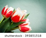 easter background with colorful ... | Shutterstock . vector #393851518