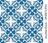 seamless pattern illustration... | Shutterstock .eps vector #393871555