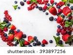 Various Fresh Summer Berries....