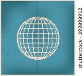 global design on old paper... | Shutterstock .eps vector #393898912