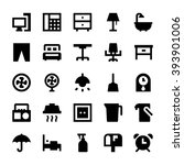 home appliances vector icons 3 | Shutterstock .eps vector #393901006