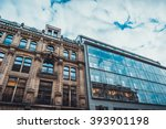 Low Angle Architectural View Of ...