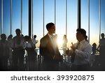business collaboration... | Shutterstock . vector #393920875