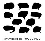 set of isolated bubbles... | Shutterstock .eps vector #393964432