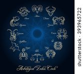 Astrological Zodiac Circle....