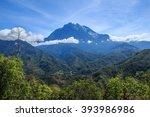 mount kinabalu view form nabalu ... | Shutterstock . vector #393986986