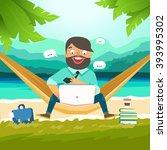 dream work  the best work  work ... | Shutterstock .eps vector #393995302