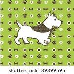 vector dog graphic   Shutterstock .eps vector #39399595