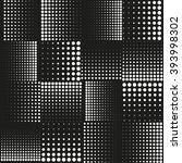 abstract halftone vector... | Shutterstock .eps vector #393998302
