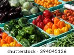Colorful Vegetables In Street...