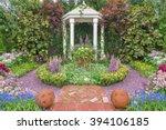 Pavilion In Beautiful Flower...