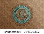 Ceramic Motif Background