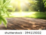 board of wood in brown color... | Shutterstock . vector #394115032