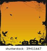 halloween grunge vector... | Shutterstock .eps vector #39411667