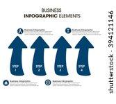 business infographics vector... | Shutterstock .eps vector #394121146