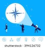 flat design vector concept... | Shutterstock .eps vector #394126732