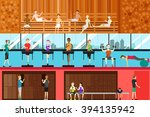 a vector illustration of inside ... | Shutterstock .eps vector #394135942