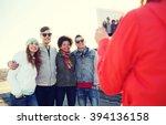 friendship  technology and... | Shutterstock . vector #394136158