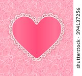 invitation or greeting card... | Shutterstock .eps vector #394137256