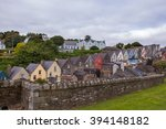 terraced houses and chimney... | Shutterstock . vector #394148182