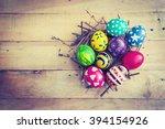 easter holiday | Shutterstock . vector #394154926