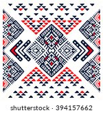 tribal ethnic collection ... | Shutterstock .eps vector #394157662