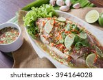 Steamed Fish With Chili Lime...