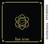 heart sign icon. | Shutterstock .eps vector #394180042