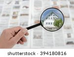 searching list for house...   Shutterstock . vector #394180816