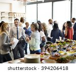 diversity people party...   Shutterstock . vector #394206418