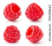 Fresh Raspberry Isolated On...