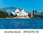 sydney   march 8  view of the... | Shutterstock . vector #394209178