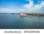 sydney   march 14  view of the... | Shutterstock . vector #394209448