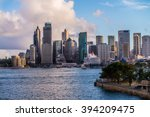 sydney   march 8  view of the... | Shutterstock . vector #394209475