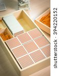 montessori material   one...   Shutterstock . vector #394220152