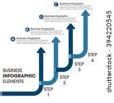 business infographics vector... | Shutterstock .eps vector #394220545