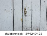 wooden background with cracked... | Shutterstock . vector #394240426