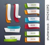 vector banners set. | Shutterstock .eps vector #394241092
