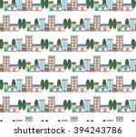 cute multicolored vector... | Shutterstock .eps vector #394243786