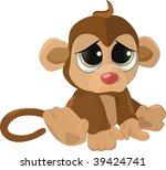 Soft Toy A Sad Monkey