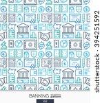 banking and finance wallpaper.... | Shutterstock .eps vector #394251592