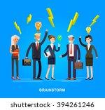 vector detailed character .... | Shutterstock .eps vector #394261246
