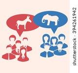 Illustration Concept Of Debate...