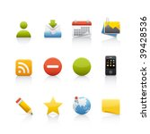 icon set   social media. set of ...