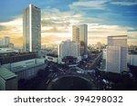 Jakarta City With Modern...