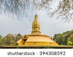 Golden Pagoda Architecture At...